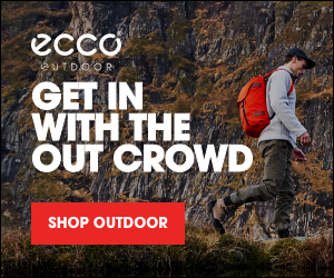 ECCO Shoes Banner Ad 300 x 50