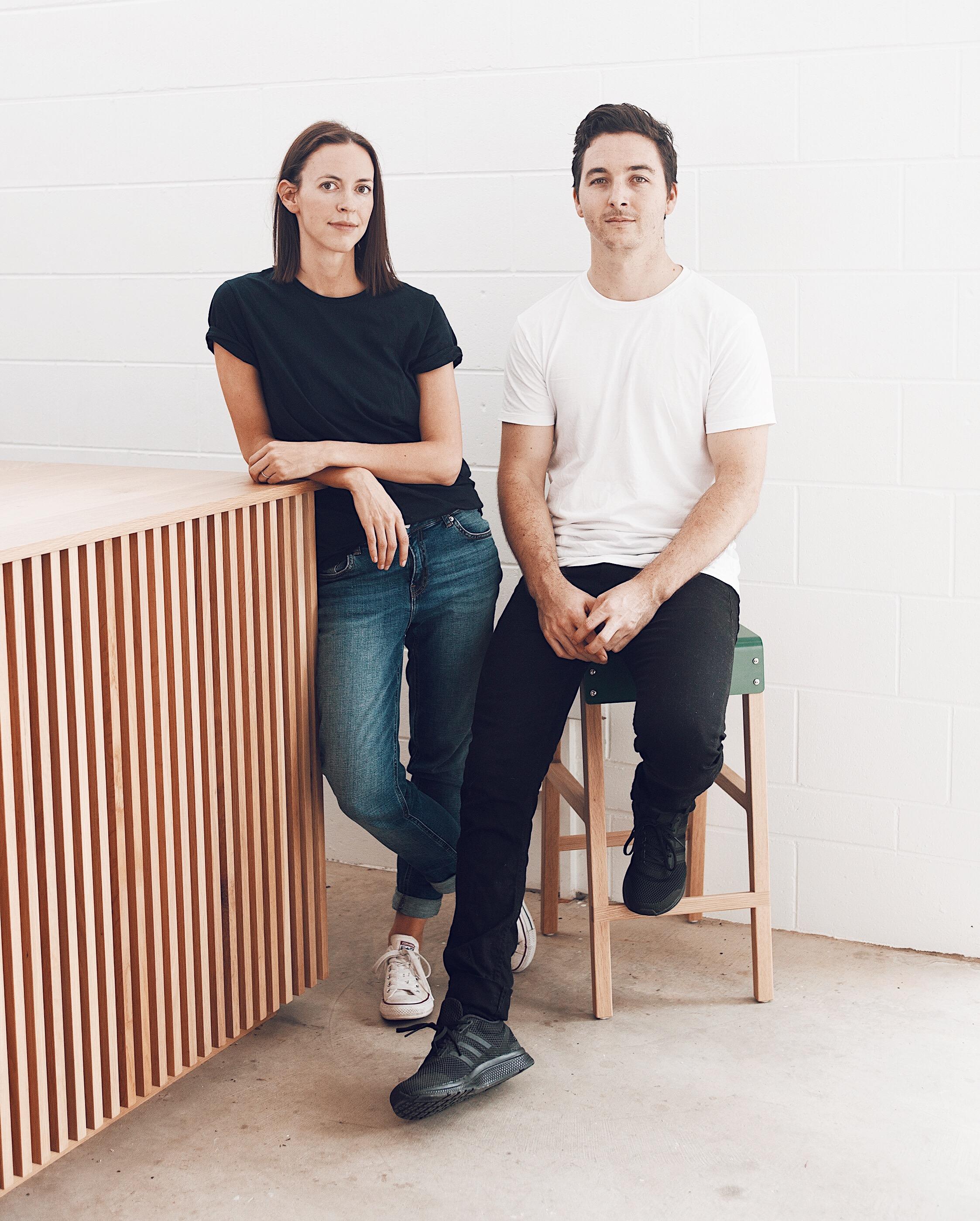 Kati and Rory Morgan from Mast Furniture