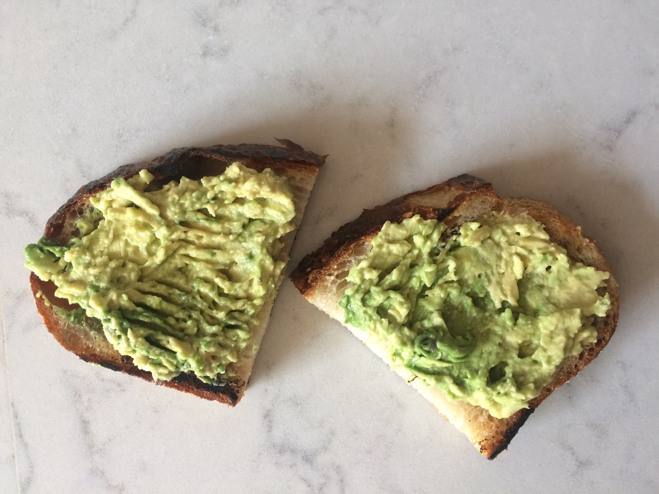 the based of elotes avocado toast || planting my roots