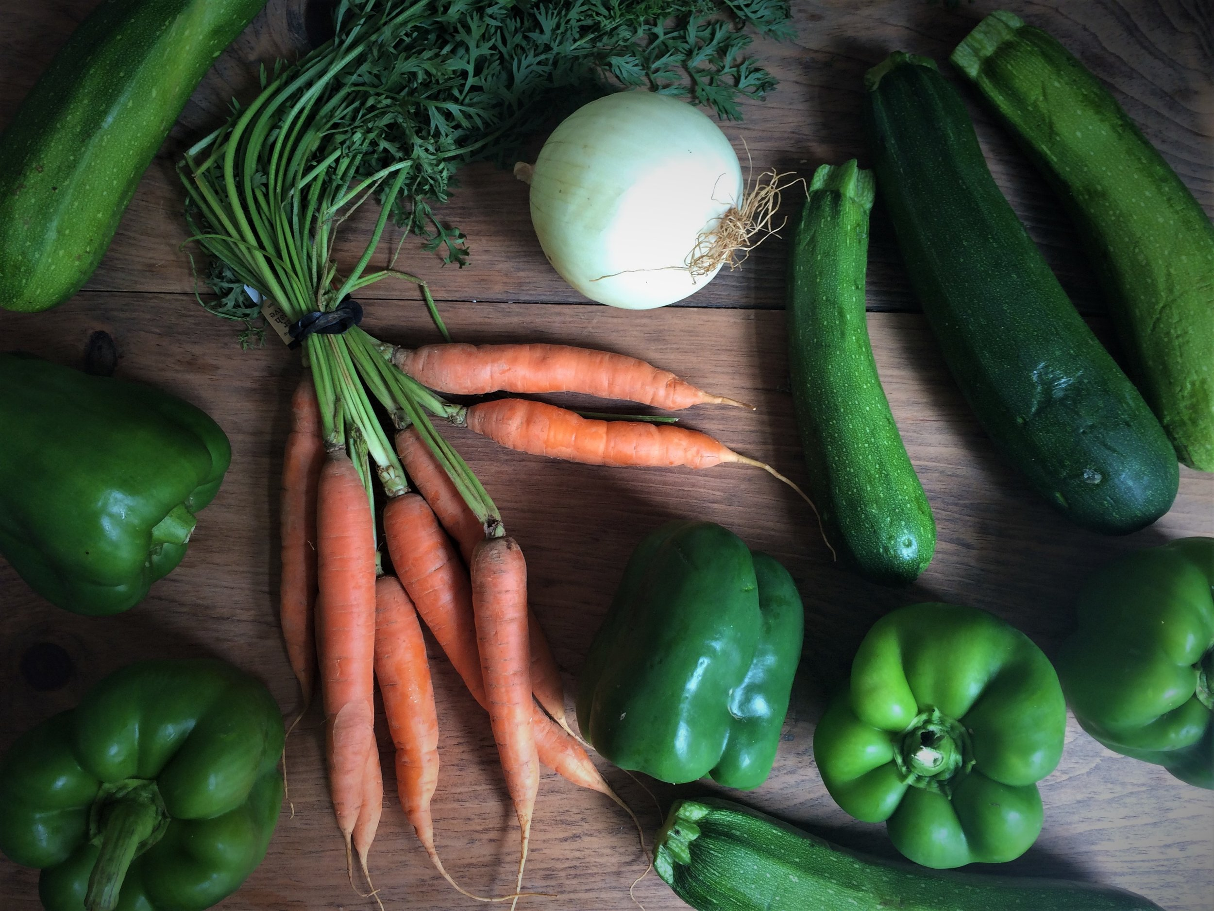 august csa deliveries || planting my roots