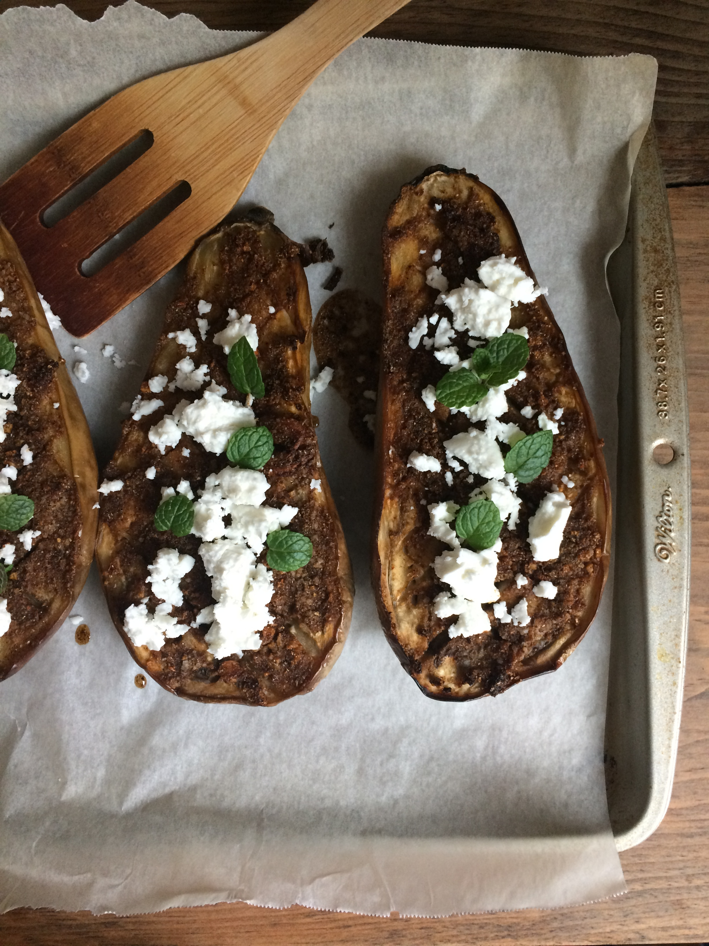 Chermoula Roasted Eggplant || planting my roots