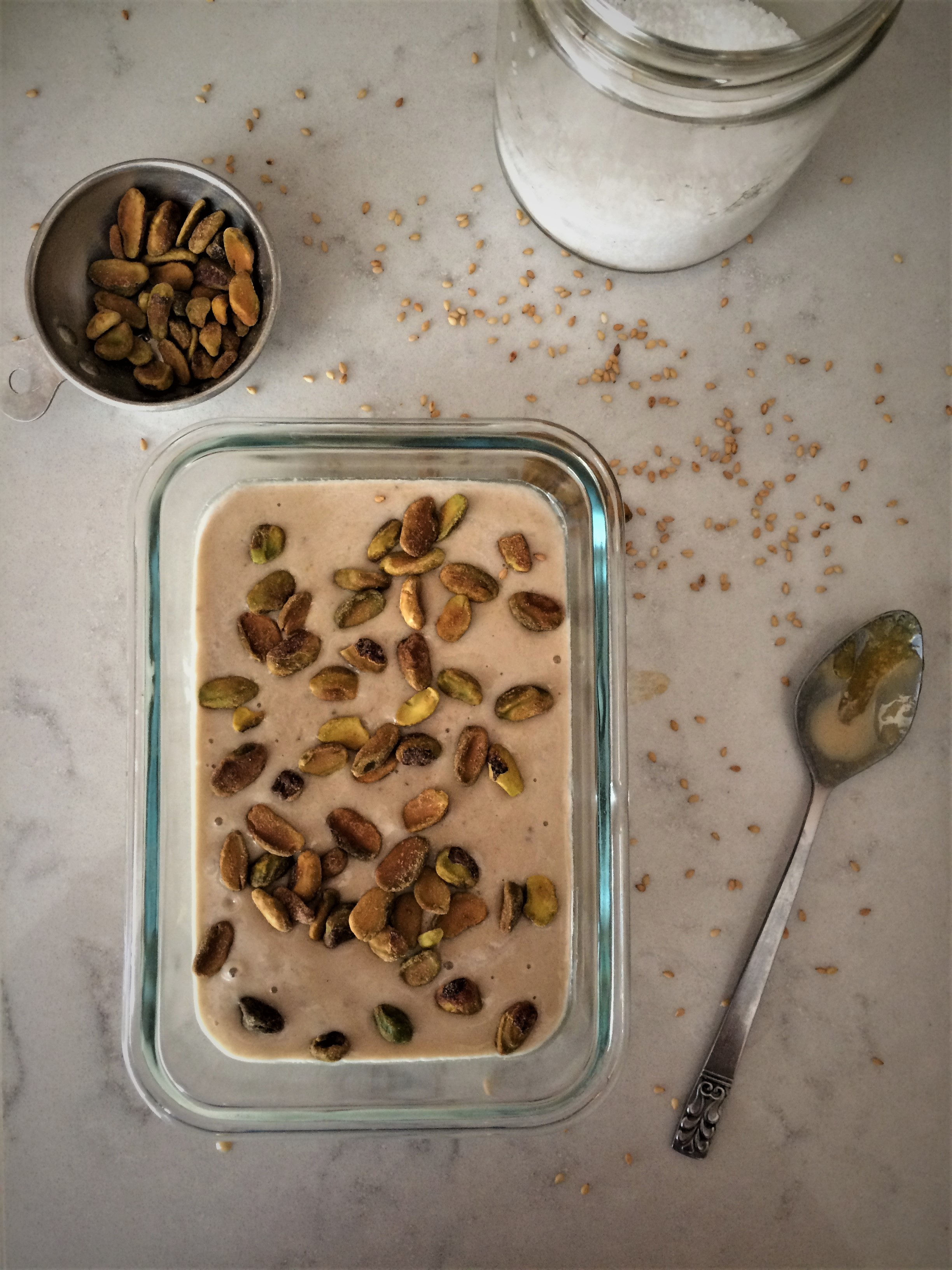 Halva Nice Cream || Planting My Roots