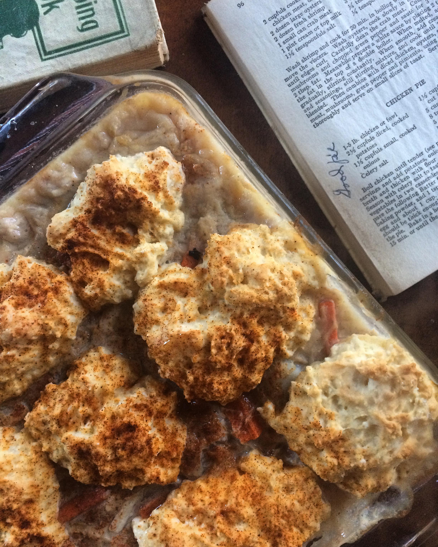 chicken pie || planting my roots