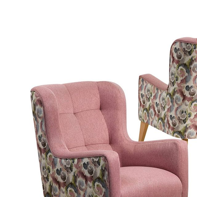 A soft watercolour palette of blush, powder blues and moss greens, swirled together to create Pash; a linen look print with heavy commerical qualities. Shown here Pash has been coordinated with our textured plain Watson Blossom which ties in well to the texture and blush within the print.  #fabric #upholstery #textiles #design #colour #palette #interiordesign #melbourne #profilefabrics #creative #homeinspo #inspiration #texture #tone #colourinspo #fresh #inspiration #interior #pattern #print #watercolor #watercolour #heavycommercial #pash #watson