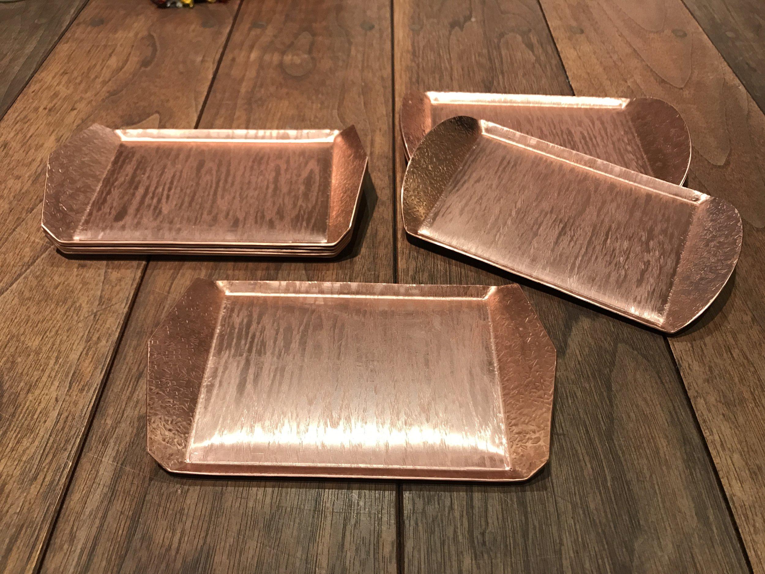 Polished Copper Trays 銅こざら ¥3800