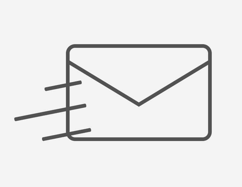 STEP2   登録いただいたメールアドレスへ政策人材に対する求人情報を随時配信いたします。