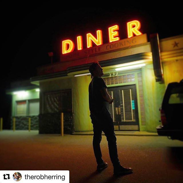 #Repost @therobherring with @repostapp ・・・ Come on down to Cool Guy Diner. @christophergabriel #TheRelationtrip #makingamovie
