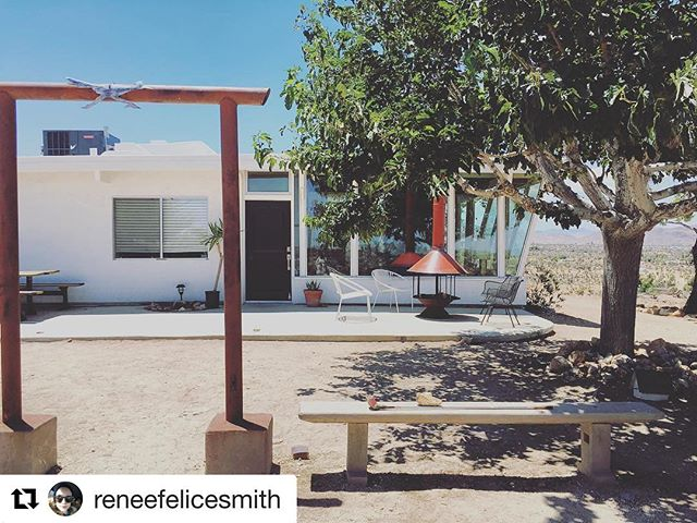 #Repost @reneefelicesmith with @repostapp ・・・ one pretty desert dwelling? coming right up. #therelationtrip