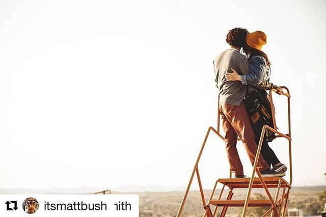 #Repost @itsmattbush with @repostapp ・・・ #Repost @reneefelicesmith with @repostapp ・・・ and that's a wrap on #therelationtrip 🎥🎬❤️💕 here I'm standing with @itsmattbush on the top of the 🌎  photo by the best @jtunberg