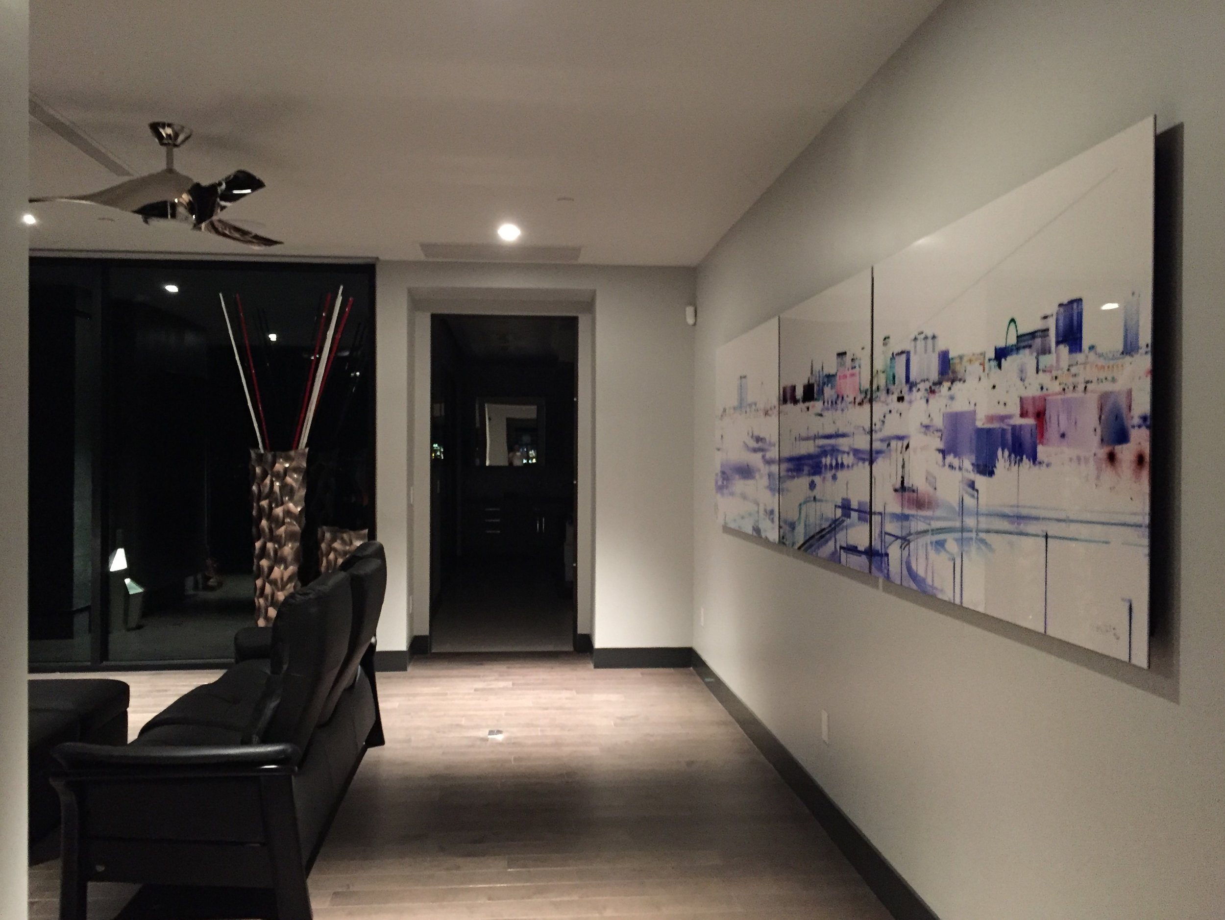Las Vegas 40x167 | Dragon Ridge Country Club Installation