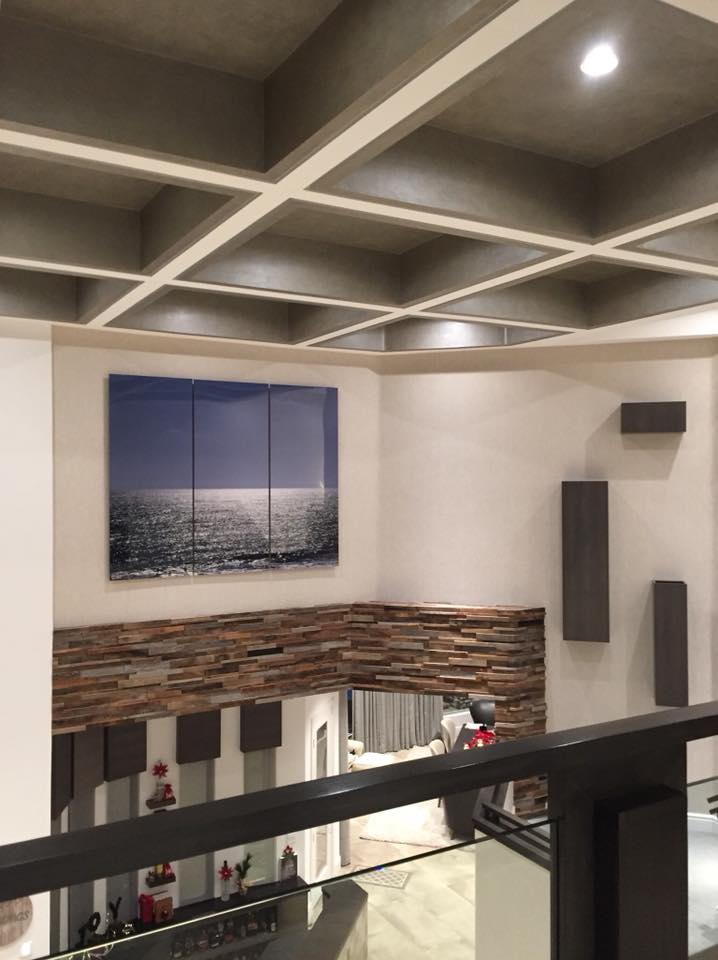 Horizon 77x96 Triptych | The Ridges Installation