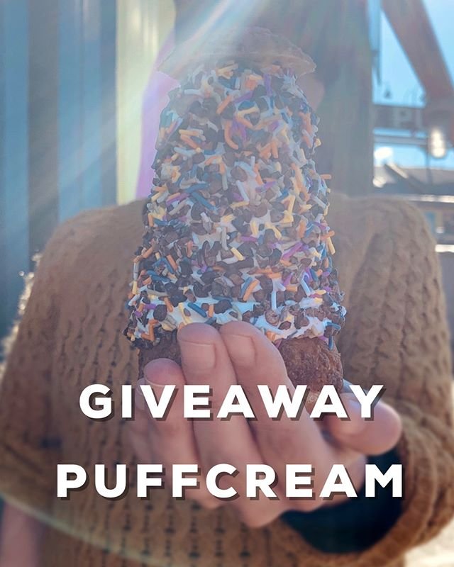 🚨 CONTEST ALERT 🚨  It's Sunny Saturday which means:  free puffcream! . . . We are giving away puffcreams for you and three of your friends. To enter the contest:  1. Take a pic or post the best photo that you have of your puffcream  2. Share + Tag US #popinacanteen #granvilleislandpuffcream 3. The two most creative pictures will win. (Total 8 puffcreams!!) Make sure your Instagram account is not private so we can see your delicious pics.  Winner announce June 8th.