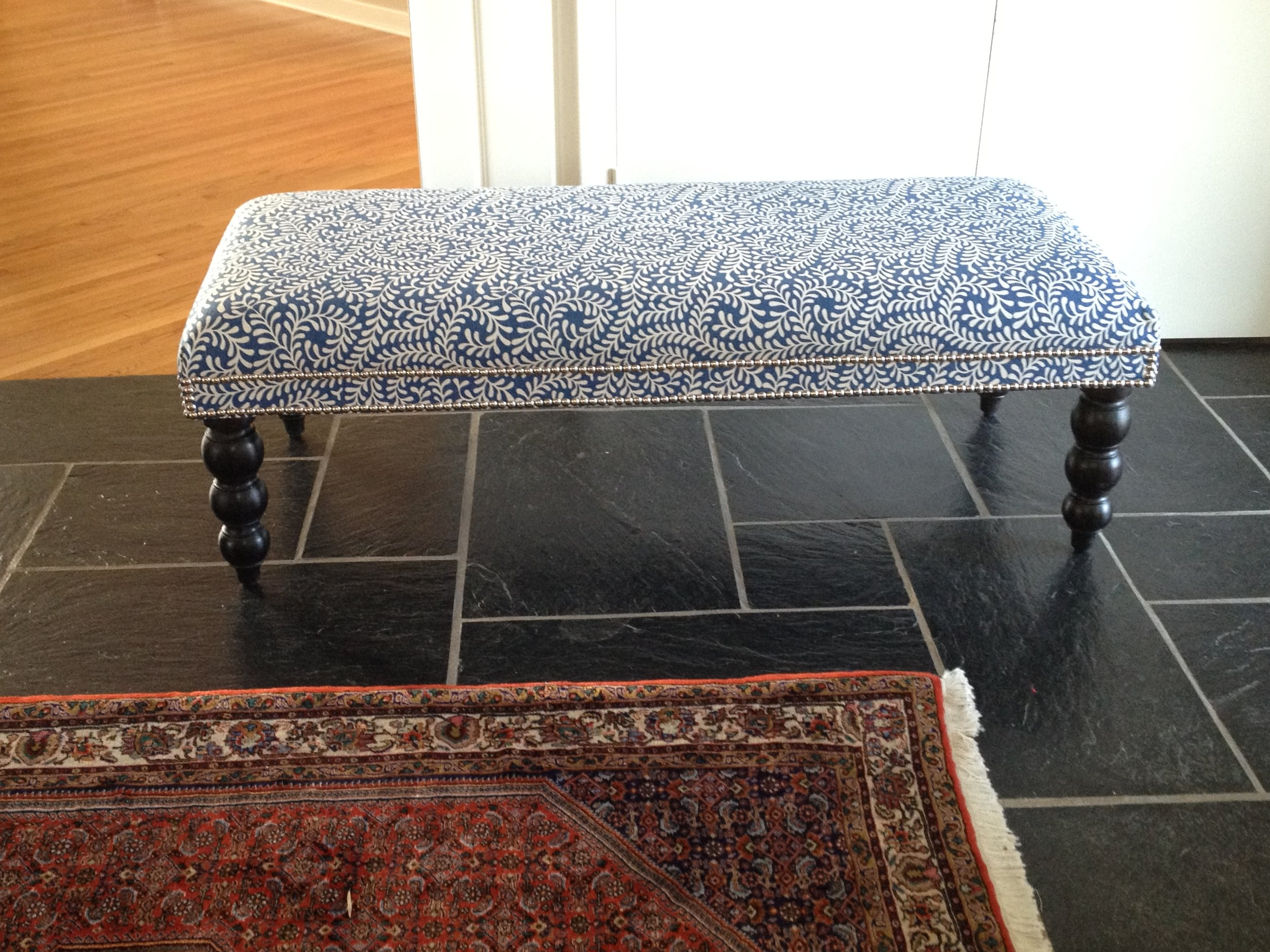 Bench with Nailheads