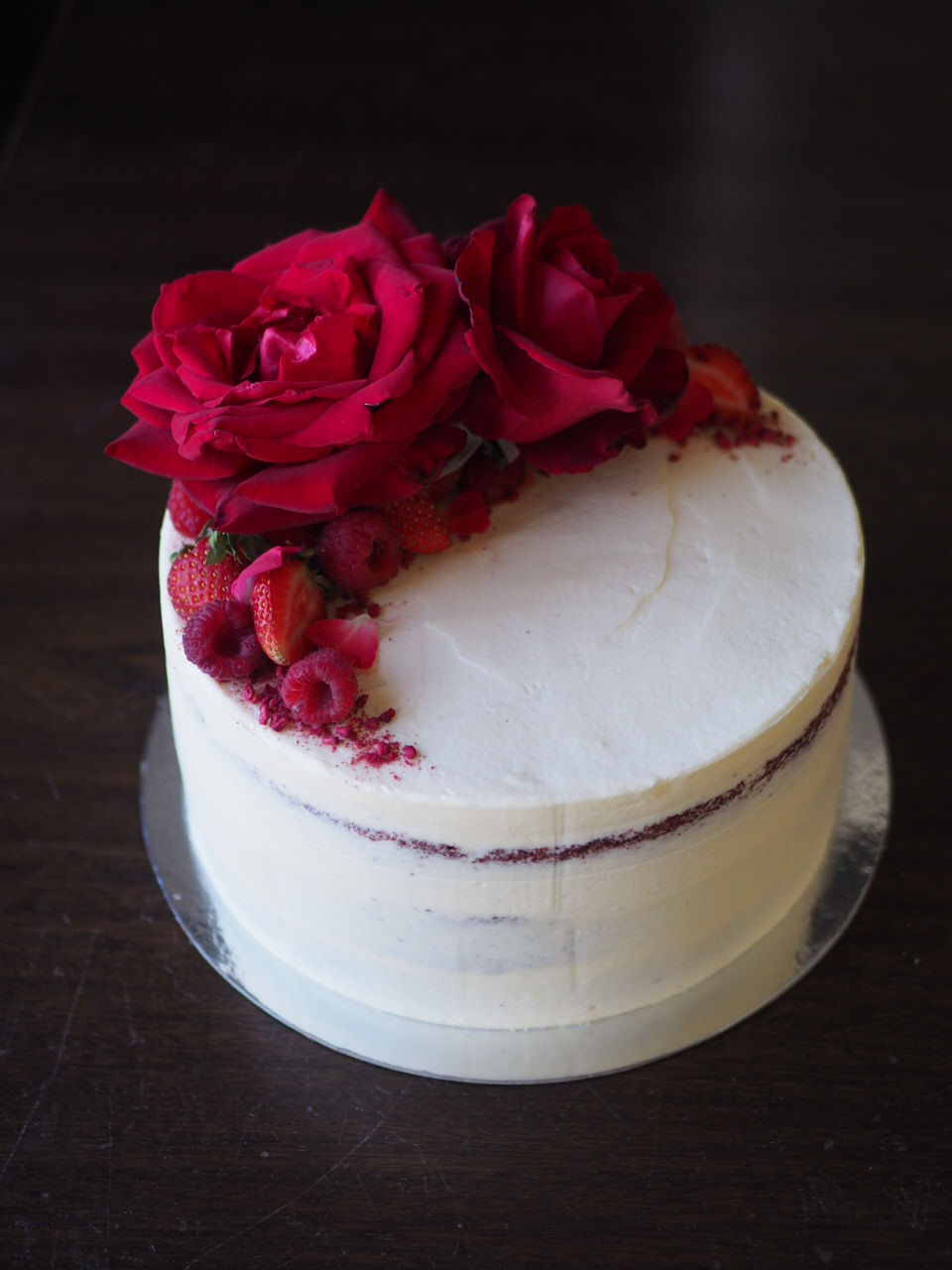 2018-01-07 Red velvet wedding cake 010.JPG