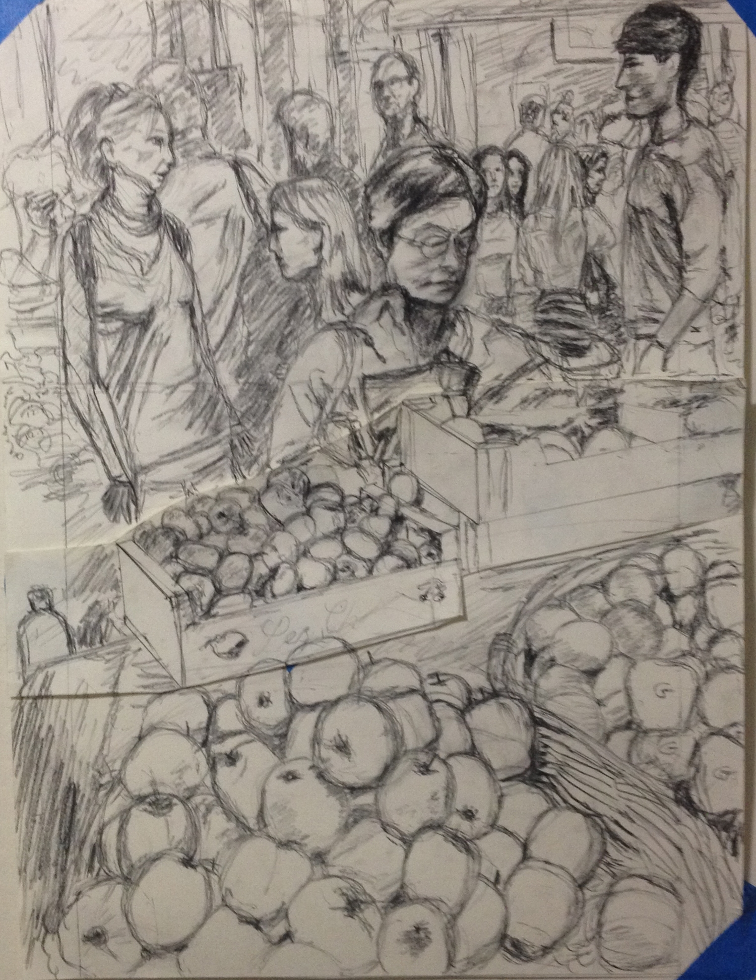 Study for Borough Market Shopping