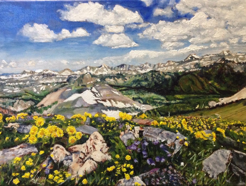 Grand Tetons in Spring