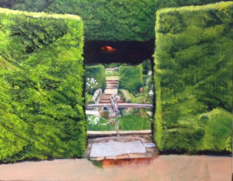 Work in progress: left hedge
