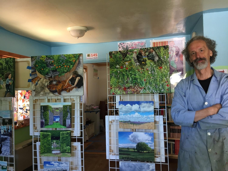 Artist in Open Studio Gallery Show