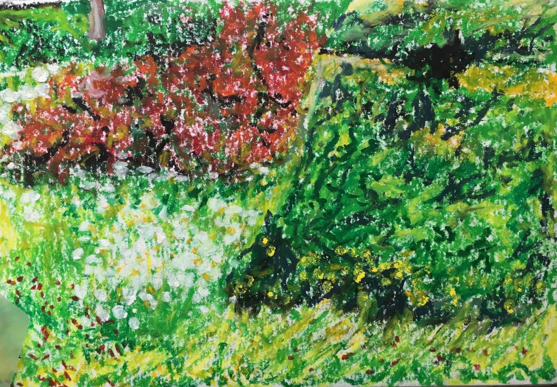 Meadow at Great Dixter garden