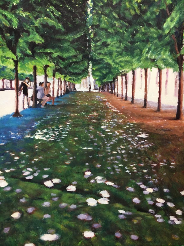 Dappled Light at Palais Royal
