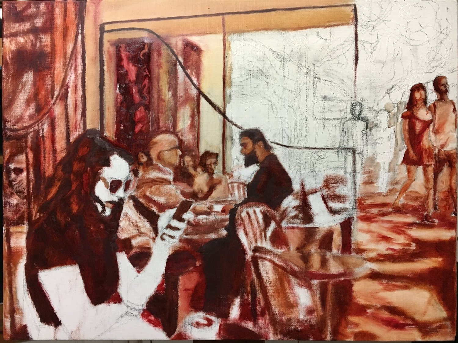 Underpainting as of 13DEC