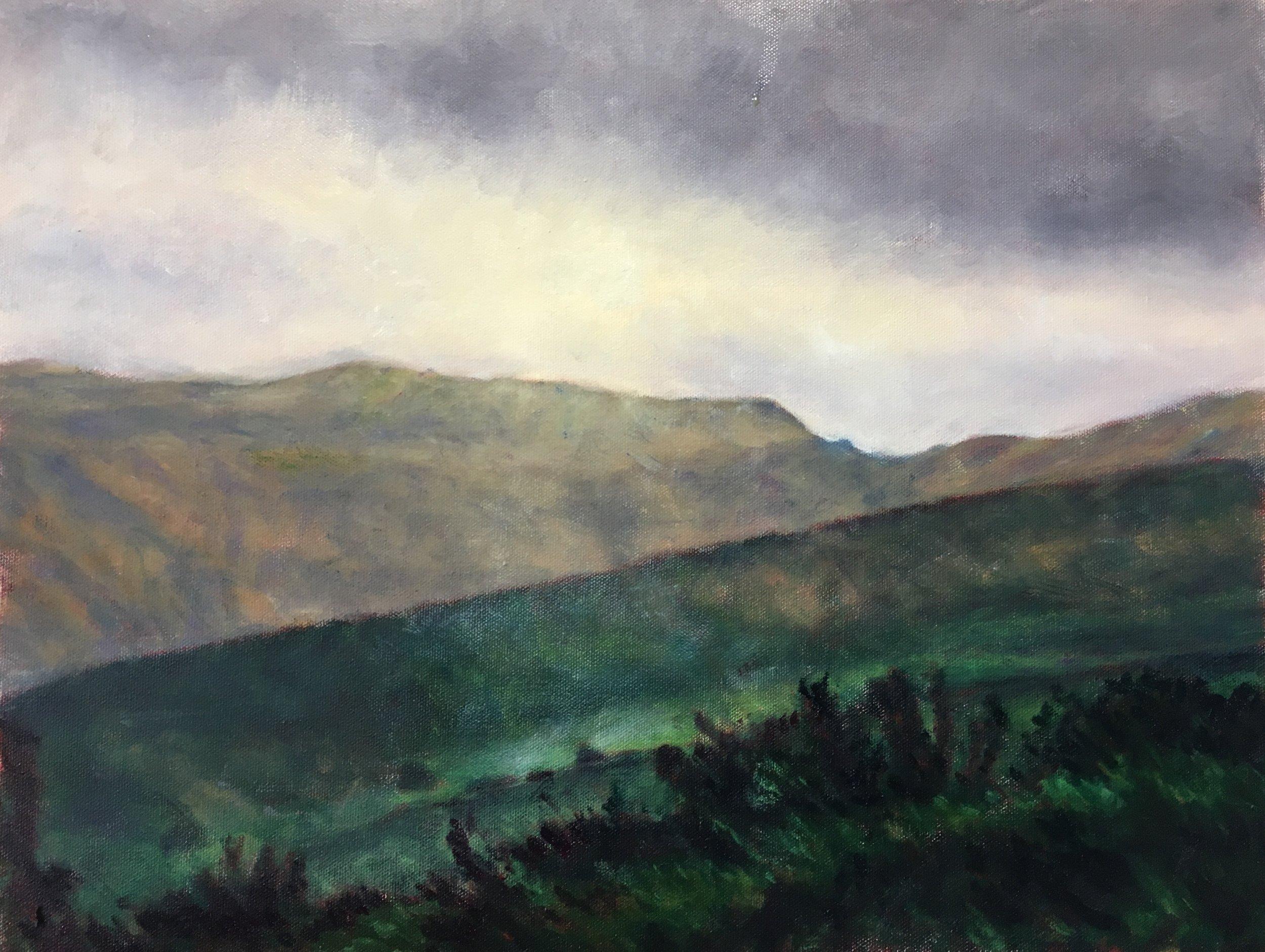 Morning (2) from Calton Hill, Edinburgh
