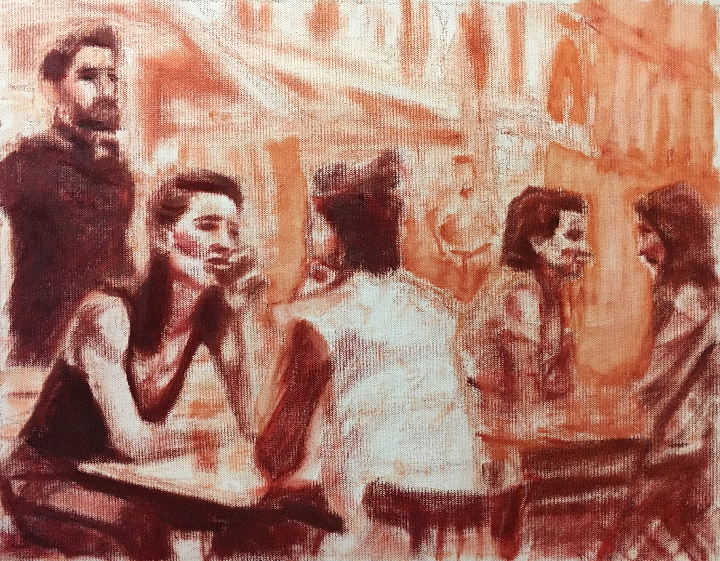 Underpainting (09 April 2019)