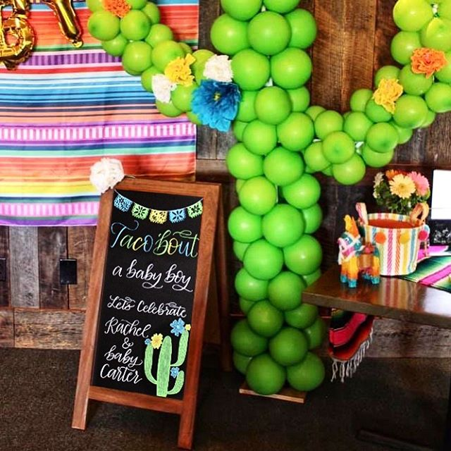 We just got back from a family vacation in Mexico.... Now let's taco 'bout how I'm not quite ready to get back to reality. • • • • • #babyshowerchalkboard #showerchalkboard #welcomechalkboard #houstoneventcalligraphy #houstoneventcalligrapher #houstonchalkart