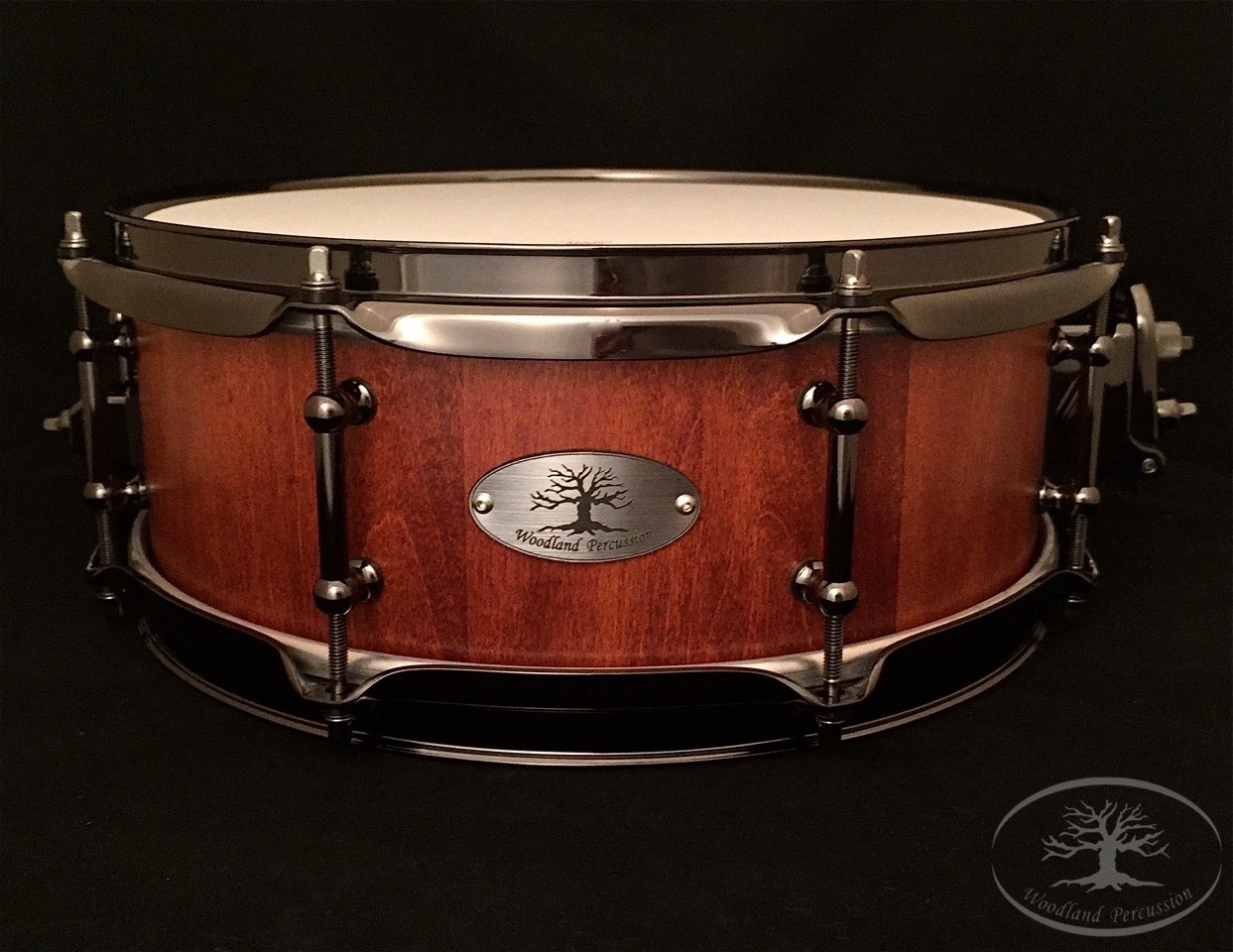 13x5x1/2 Hard mMaple  Weathered Cherry stain finish with Black Chrome hardware