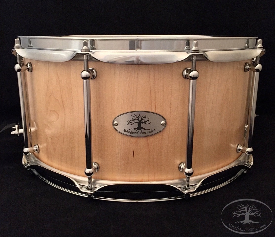 14x7x1/2 Hard Maple   Natural Oil Satin finish with Chrome hardware
