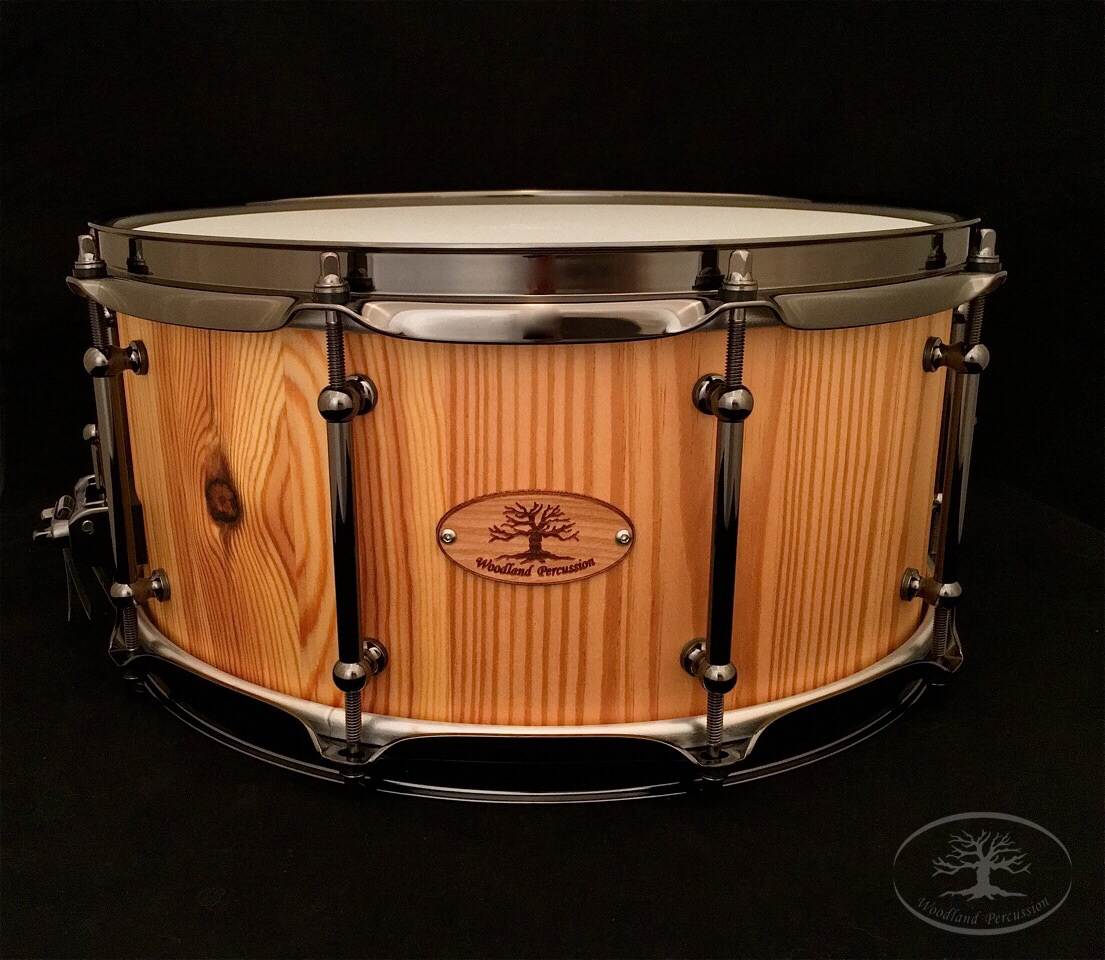 14x6.5x5/8 Reclaimed Heart Pine  Natural Oil finish with Black Chrome hardware