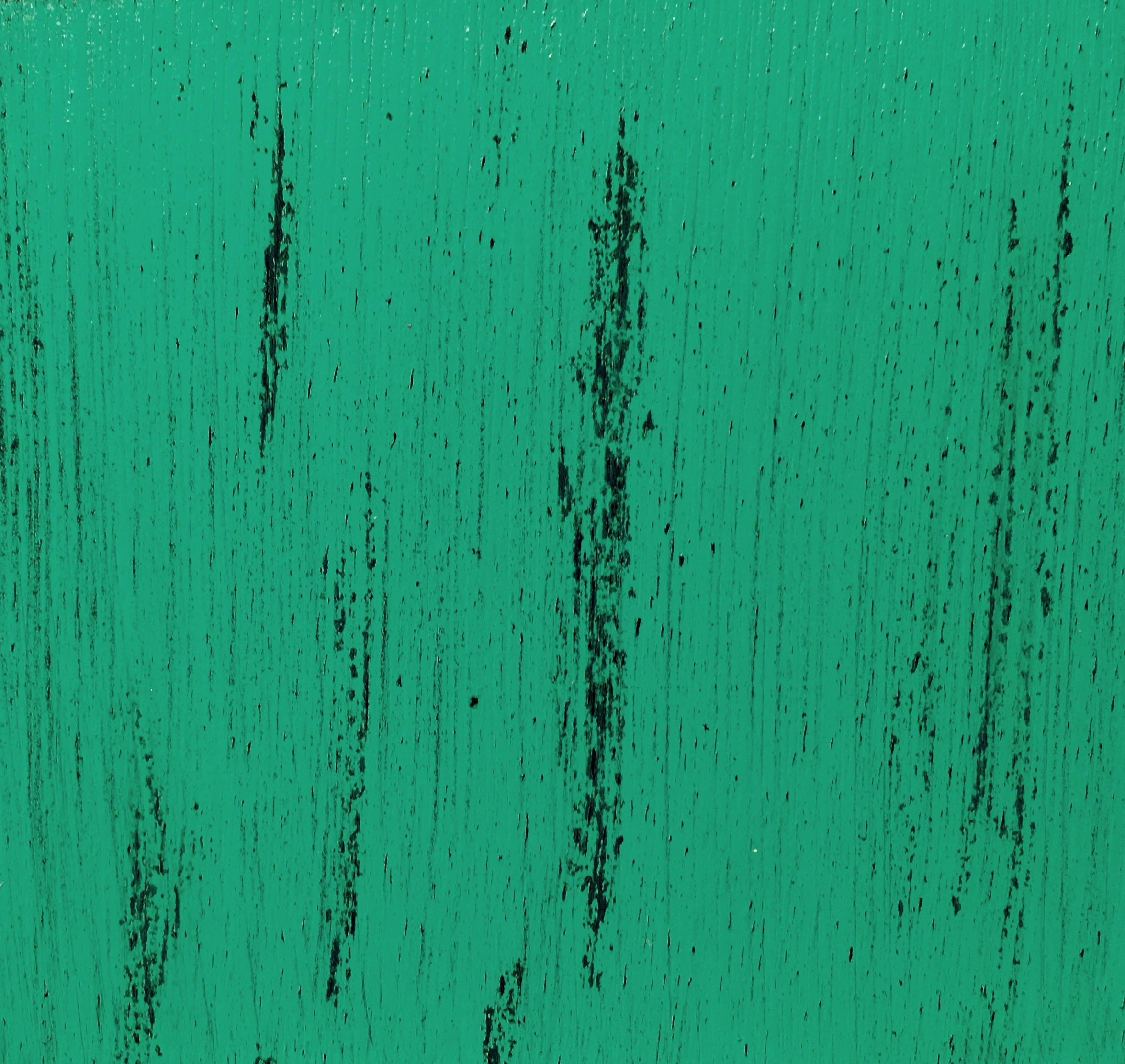 Verdigris green over Onyx black