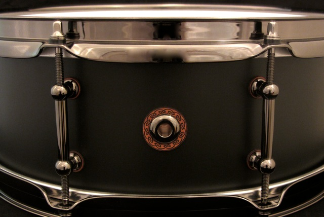 black out birch snare