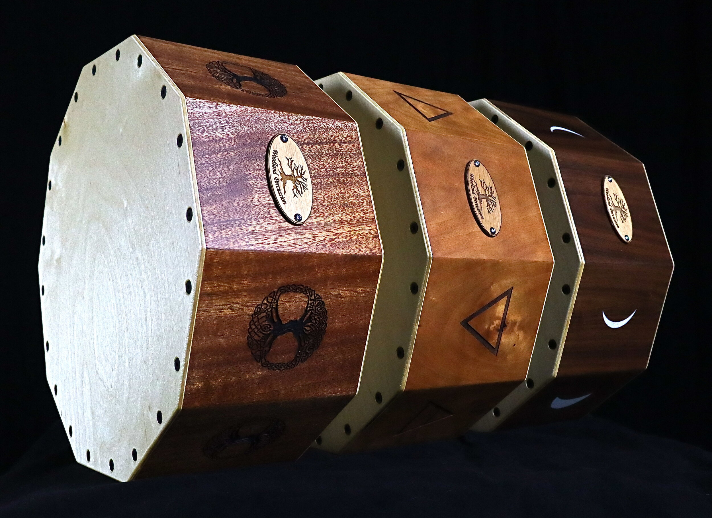 Woodland Percussion Deca Drums