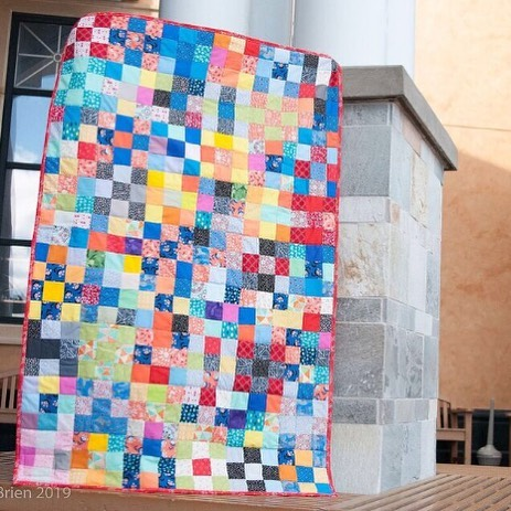 Also donated to the Linus Project was the 9 Patch Quilts made by the patrons of our sister company's,  @cottoncutscollective, grand opening. Amazing how several little 9 patches can turn into such an amazing quilt! . . . #thoughtfulthursday #thoughtfulthursdays #cottoncuts #iheartcottoncuts #quilting #sewin #instasew #sewsewsew #seweveryday #quiltsofinstagram #charityquilt #quiltdonation #donationquilt #makersgonnamake #quiltingkeepsmesane #quiltingismytherapy #quilt #quilters #sewquilty #instaquilt