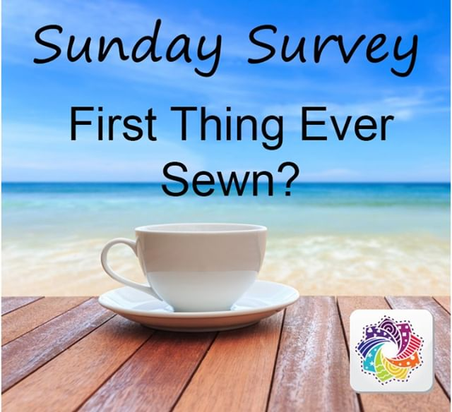 It is Sunday Survey time!! First thing ever sewn?  What do you make?  How did it go?  Let us know in the comments below! . . . #sewingspace #learntosew #sewingproject #springsewing #sewcrafty #quiltersofinstagram #quilters #quilts #quilting #quiltlove #quiltingkeepsmesane #quiltinginmytherapy #quiltsofinstagram #quiltmaking #sewcialists #modernquilt #modernquilters #sewsewsew #quiltstagram #sewsewsew #cottoncuts #seweveryday #quiltinginspirations #sundaysurvey #instasew #instaquilt #sewing #makersgonnamake #fabricstash