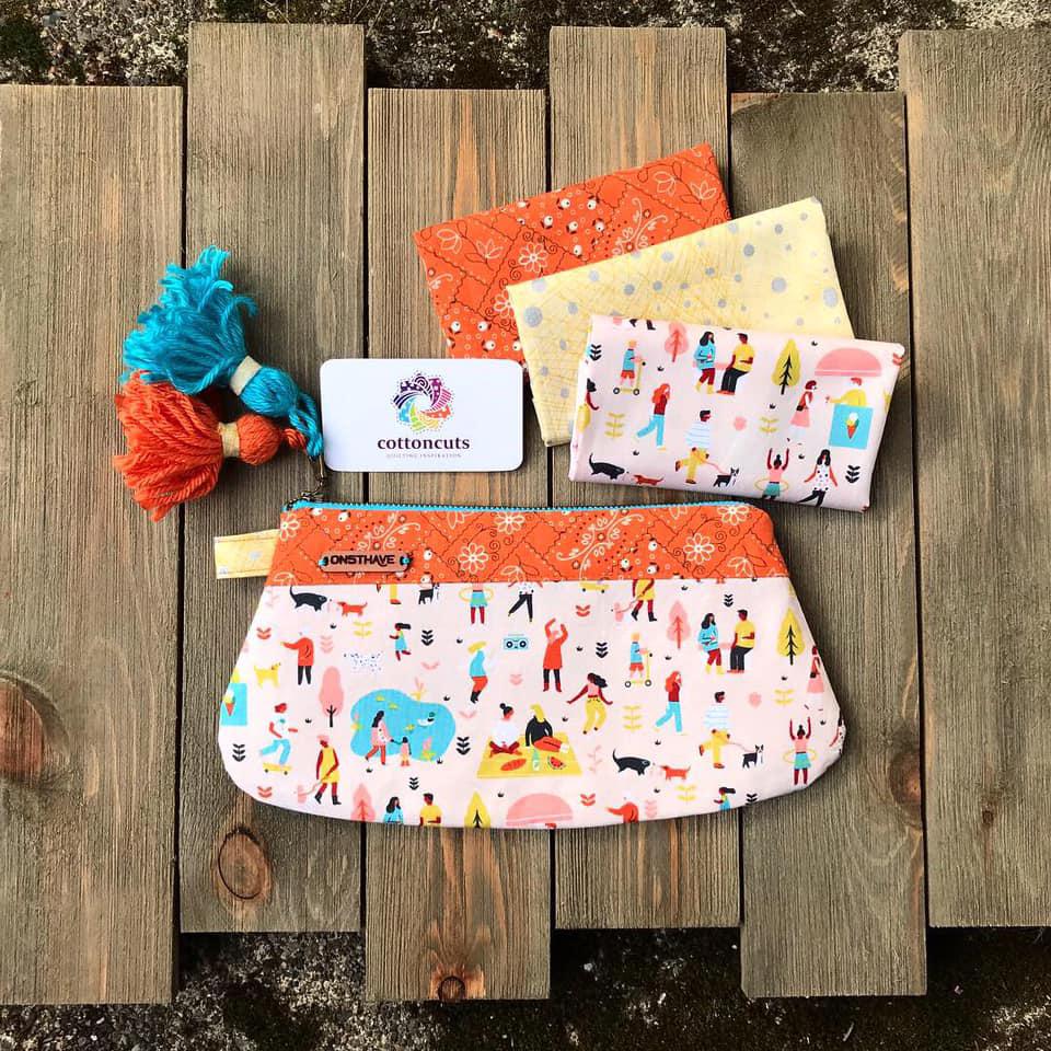 DIY Zipper Pouch with Cotton Cuts February Classic Box Fabric by Elaina.jpg