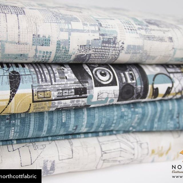Have you snagged your April's Cotton Cuts Modern Makers Box yet? Do not miss out on the Urban Grunge fabric this month! Link in bio.  Use coupon code COTTONCUTS to save 10% off your first month.  Repost from @northcottfabric Our Urban Grunge collection is in stores now! This collection is great for the music lover in your life 👍🏽 Visit our #linkinbio to see the full collection and patterns! 🎧🎤 #NorthcottFabrics #UrbanGrunge . . . #music #sound #genre #subculture #punk #heavymetal  #headphones #lovemusic #beat #dance #artist #rock #alternative #lyrics #songwriting #fabrics #quiltsofinstagram #quiltersofinstagram #sewersofinstagram #fabrics #cotton #diy #creativity #arts #crafts