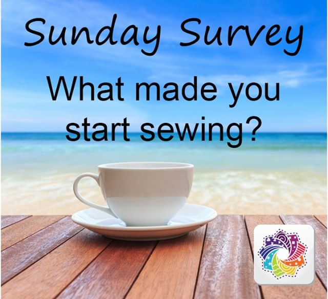 It is Sunday Survey time!! What made you start sewing?  Let us know in the comments below! . . . #sewingspace #learntosew #sewingproject #springsewing #sewcrafty #quiltersofinstagram #quilters #quilts #quilting #quiltlove #quiltingkeepsmesane #quiltinginmytherapy #quiltsofinstagram #quiltmaking #sewcialists #modernquilt #modernquilters #sewsewsew #quiltstagram #sewsewsew #cottoncuts #seweveryday #quiltinginspirations #sundaysurvey #instasew #instaquilt #sewing #makersgonnamake #fabricstash