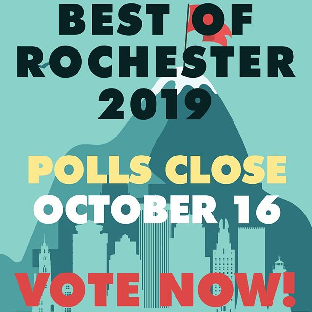 That's right folks, this is your last chance to place your vote. Go to @roccitynews and click on the link in their bio! In case my link doesn't work haha! Xoxo