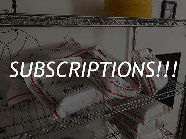 """Save 10% on any subscription order. Type """"EXPLORE"""" at check out.  Expires 10/31/18.  Link in bio. ✌🏽"""