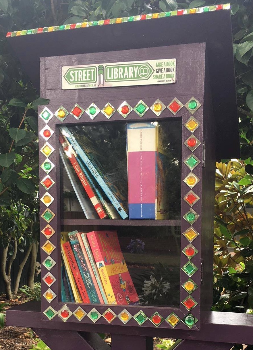 """A Street Library named """" Dumbledore """"!"""
