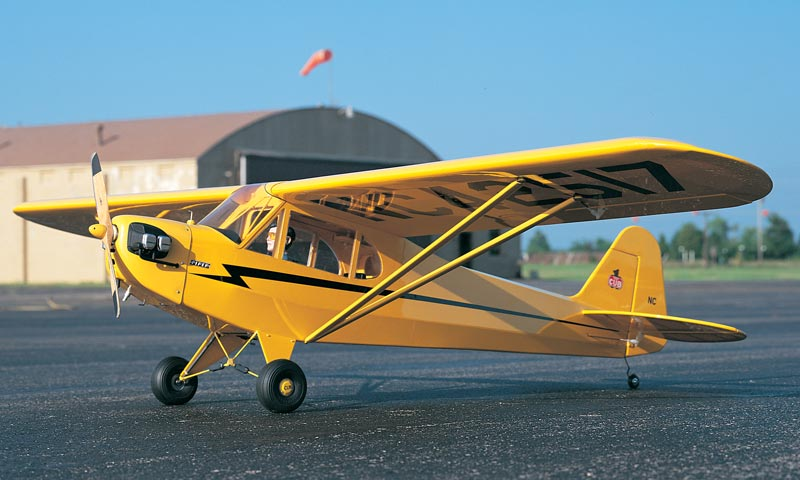 Don's first airplane, Piper J-3 Cub