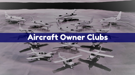 A complete list of Aircraft Specific Owner Clubs - Find your Club on PrebuyGuys.com