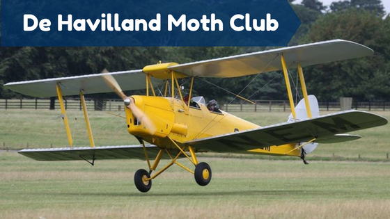 De Havilland Moth Club courtesy of The Prebuy Guys