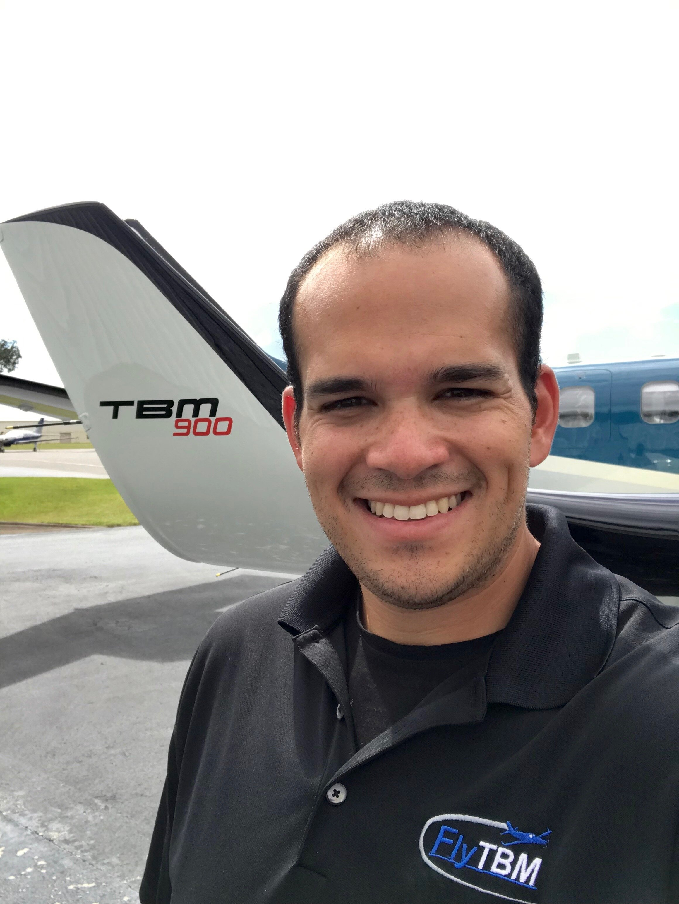 Ricardo Rivera - Ricardo Rivera is an Aircraft Analyst and Mechanic with FlyTBM and holds a Bachelor's of Science in Aviation Business Administration from Embry Riddle Aeronautical University. He holds a Private Pilot certificate while also having completed Formal Factory Maintenance Training through Daher in Pompano Beach, Florida for TBM aircraft.Ricardo's role as an Aircraft Analyst with FlyTBM has him ensuring each owners aircraft are ready to fly providing maintenance oversight, compliance tracking, assisting with research for aircraft acquisitions, and assisting TBM owners with technical questions about their aircraft.Ricardo has worked as a technician with a Daher Authorized Service Center, providing him with unique practical knowledge and experience working on all TBM models. Ricardo's role as a TBM technician has him providing technical support to owners/pilots, coordinating maintenance with service centers, providing assistance with AOG events, assisting with post-maintenance test flights, and keeping aircraft clean and looking their best.