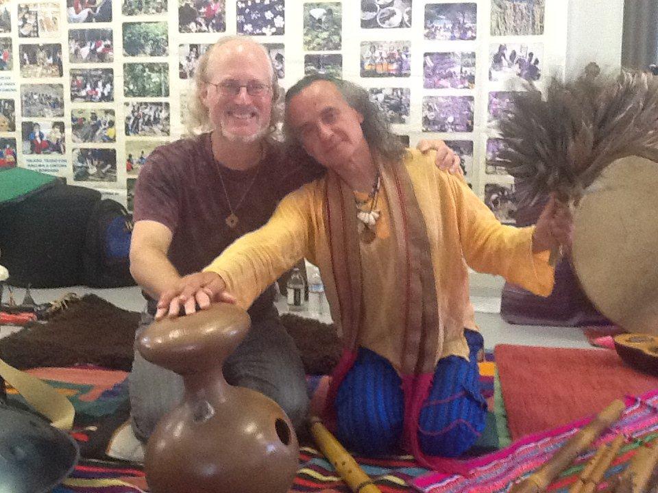 Ian & Tito La Rosa at Munay Farm, Petaluma, CA