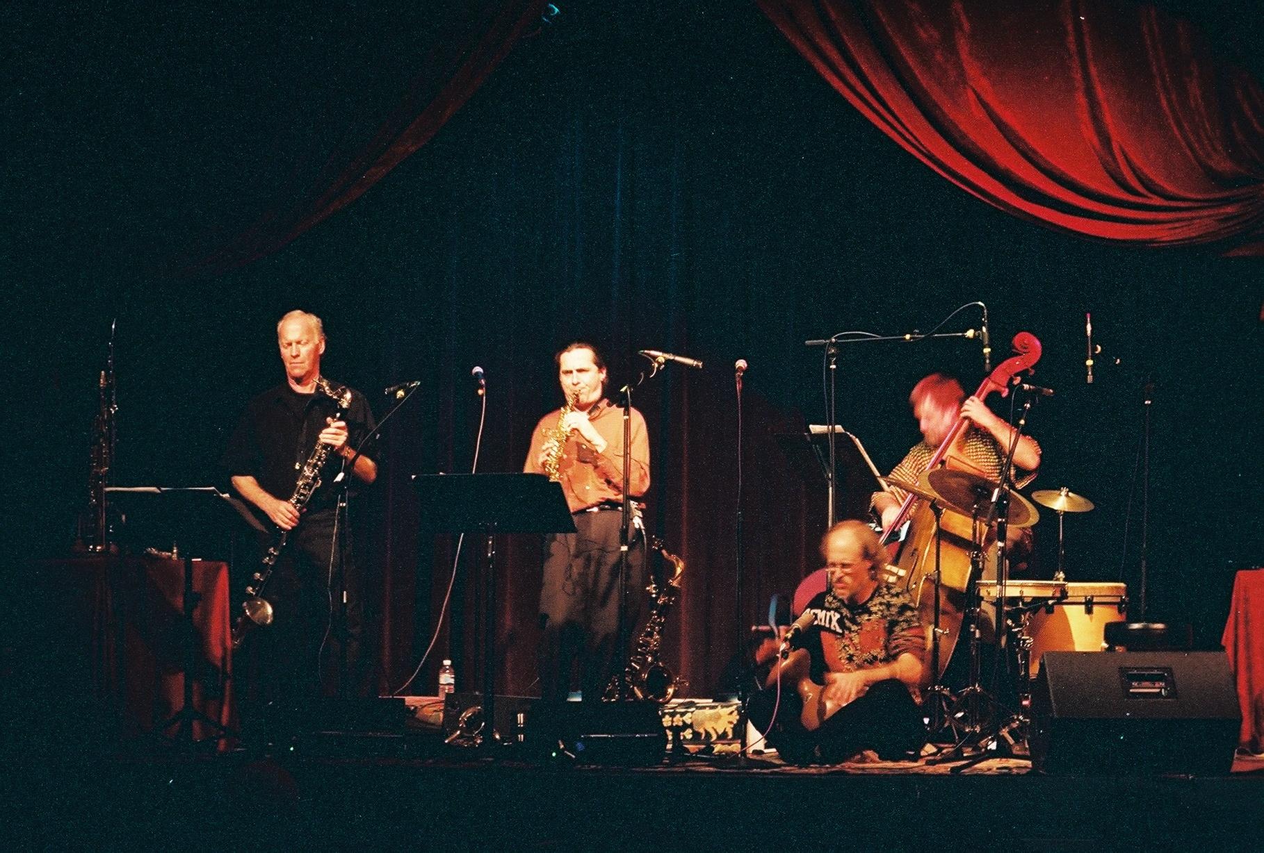 Hemispheres in Concert at the Throckmorton Theatre
