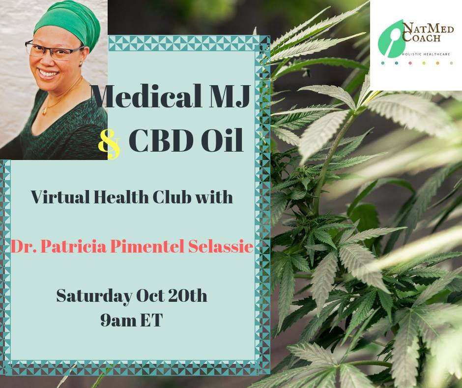 Tune in to this LIVE Webinar on CBD!