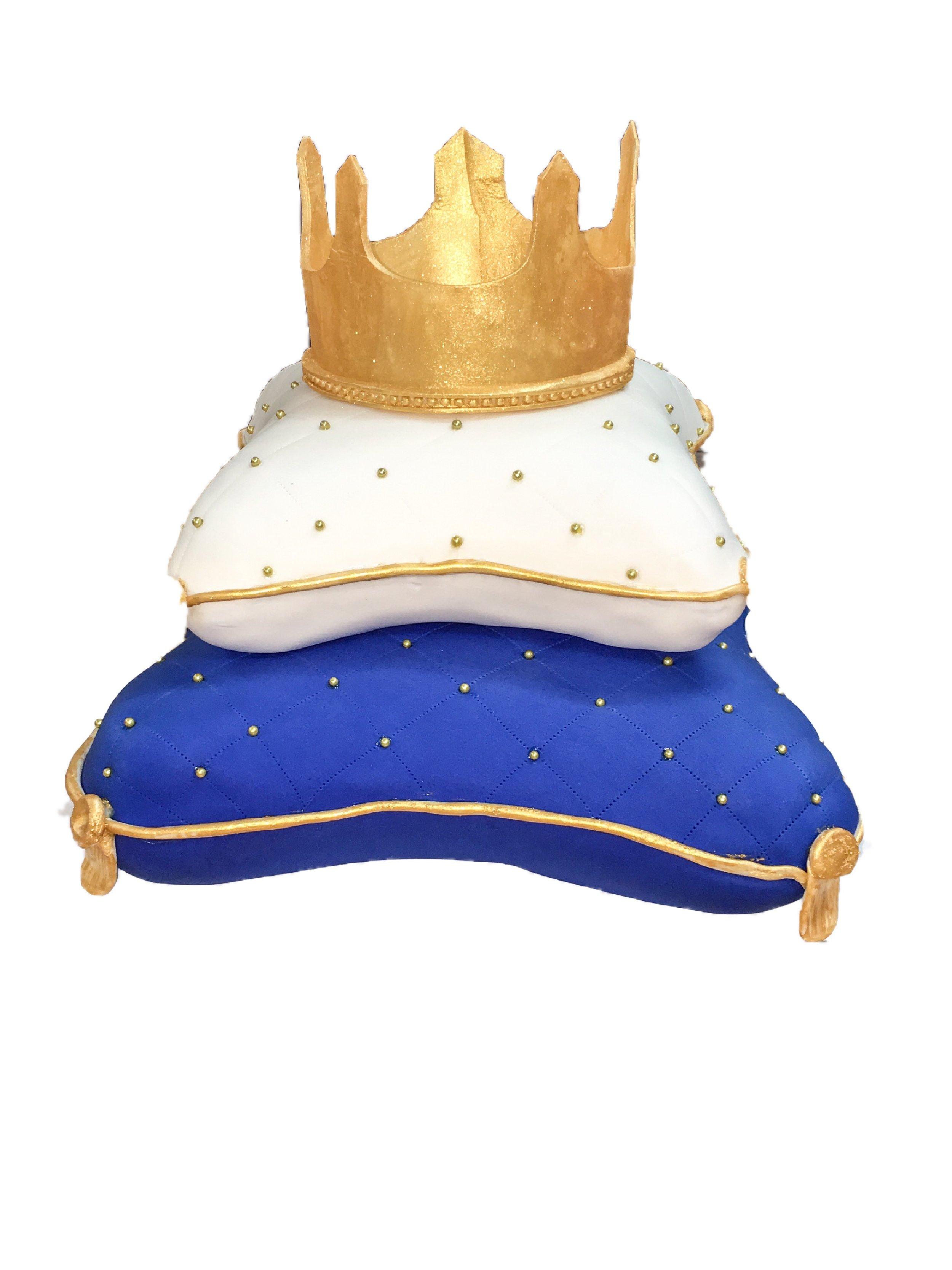 Prince Pillow Shower Cake